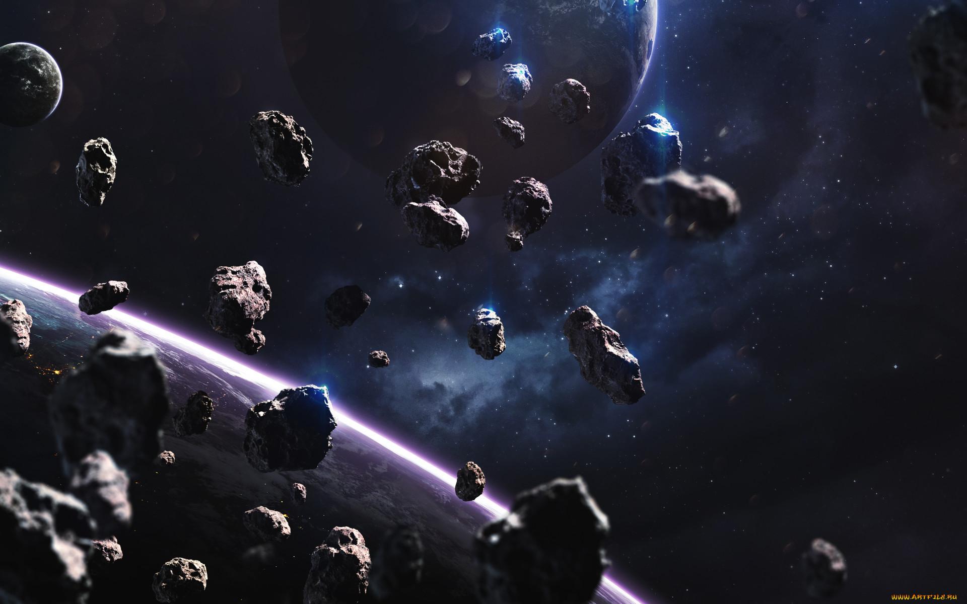 метеоры в космосе картинки еще